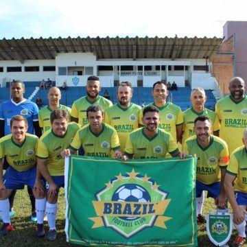 Ontem o dia foi de muito futebol, alegria e amor ao próximo em Camaquã.