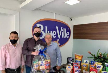 Visita a Blue Ville