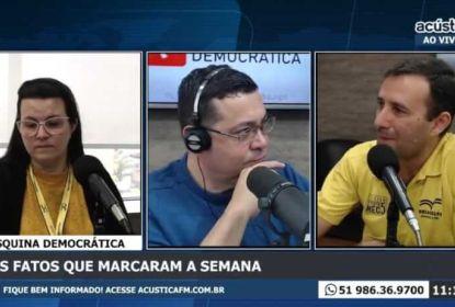 Participação da Uniasselvi na Rádio Acústica FM.