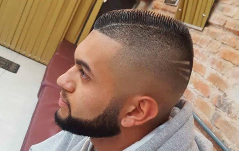 Borbas Mattos Barbearia Cabelo Masculino Em Degradê